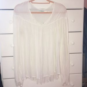 Adorable kimchi blue blouse from urban outfitters